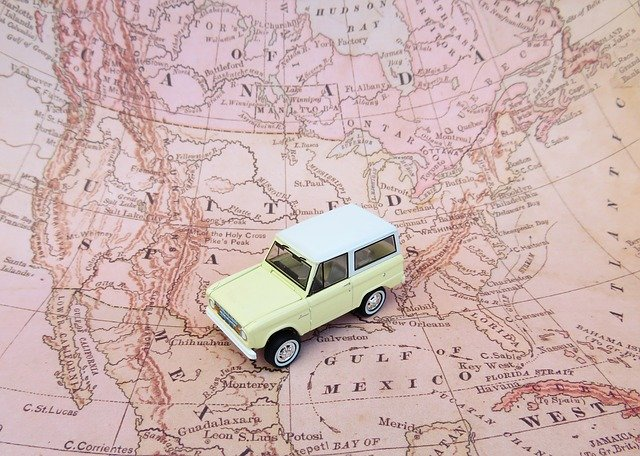 Travelling map